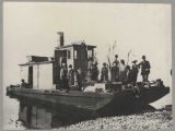 "Steamer ""Squak"" with passengers on deck, ca. 1885"