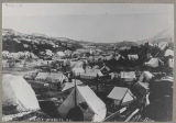 Tent city at Lake Bennett, 1898