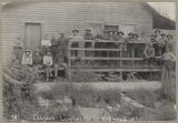 Group at Campbell Lumber Company, ca. 1907