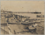 Nome wharf from Barrack Square, 1905