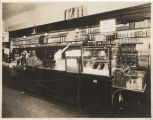 Food sales counter at Rhodes Brother Ten Cent Store, Seattle, ca. 1910