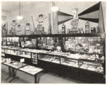Display cases with assorted merchandise, Rhodes Brothers Department Store, Seattle, ca. 1924