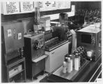 Sweden Freezer Manufacturing Company ice cream and shake machines in diner, ca. 1970