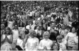 Audience at the Beatles concert at the Seattle Center Coliseum, August 21, 1964