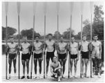 Olympic champion crew team, University of Washington, 1936