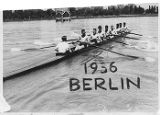 University of Washington crew in at Olympic Games in Berlin, 1936