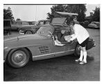 Eddy J. Franklin in Mercedes-Benz, Seattle, June 12, 1957