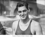 Johnny Weissmuller, Seattle, ca. 1926