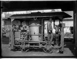 Machinery in factory yard, Seattle, ca. 1906