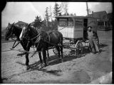 Delivery wagon for Homestead Bakery, Seattle, ca. 1906