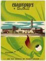 Crawford's Sea Grill menu, ca. 1960