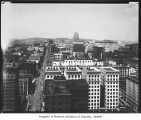 View north from Smith Tower, Seattle, June 19, 1929