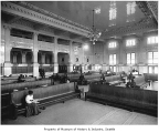 King Street Station waiting room, Seattle, ca. 1906