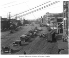 Railroad Avenue looking north, Seattle, ca. 1921
