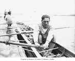 Al Ulbrickson, University of Washington rower, Seattle, ca. 1926