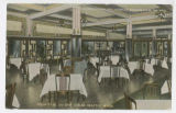 Dining room at the Pekin Cafe, Seattle, ca. 1905