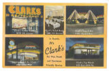 Clark's restaurants, Seattle, ca. 1950