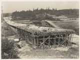 Mercer Slough bridge construction, July 28, 1939
