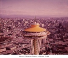 Top of the Space Needle, Seattle World's Fair, 1962