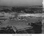 Aerial of Northgate Mall from east, Seattle, 1952