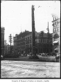 Pioneer Square totem pole, Seattle, ca. 1899