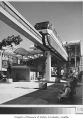 Monorail at station, Seattle World's Fair, 1962