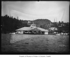 Thornley's Boat House in Leschi Park, Seattle, ca. 1905