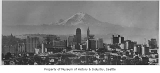 Downtown and Mount Rainier, Seattle, 1929