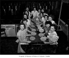 Cherry pie contest, probably in Seattle, 1949