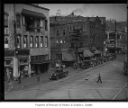 International District street scene, Seattle, 1934