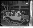 Car in St. Patrick's Day parade, Seattle, March 1936