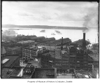 Waterfront from Alaska Building, Seattle, ca. 1905