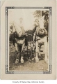 Henry Byer's team of Percherons, possibly in Maple Valley, n.d.