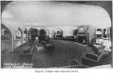 Gaffney's Lake Wilderness Resort dance hall lounge interior, Maple Valley, ca. 1940
