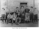Baseball team, probably from Maple Valley, n.d.