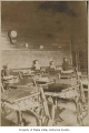 Crosson School interior showing four students and desks, King County, 1915-1917