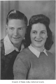 Jim and Joan (Bowman) Holder portrait, possibly in Hobart, ca. 1947