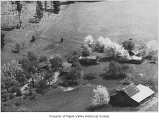 Lagesson farm viewed from above, Maple Valley, ca. 1971