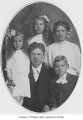 Robertson family portrait, probably northwest of Maple Valley in King County, ca. 1910