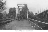 Bridge over Cedar River at Maple Valley, ca. 1909