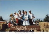 Der Wunderband on Maple Valley Historical Society float at Black Diamond, Labor Day, 1987