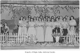 Tahoma Mothersingers on stage for their spring concert in Maple Valley, May 16, 1951