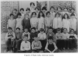 Maple Valley Grade School third grade class with Miss Boud, Maple Valley, 1930