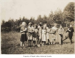 Taylor School students in Taylor, 1937