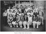 Tahoma High School freshman class, Maple Valley, 1947