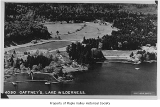 Gaffney's Lake Wilderness Resort and surrounding area viewed from above, Maple Valley, n.d.
