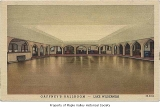 Gaffney's Lake Wilderness Resort ballroom interior, illustrated by an artist, Maple Valley, n.d.