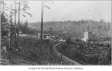 Railroad tracks through Ravenna neighborhood, Seattle, ca.1893