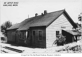 Northern Pacific depot, Kirkland, 1940