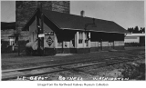 Northern Pacific depot, Bothell, ca. 1930
